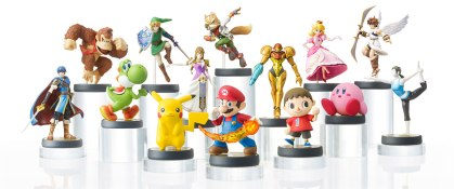 First wave of the amiibos! Image from Wikipedia because I'm not in high school anymore and it's allowed.