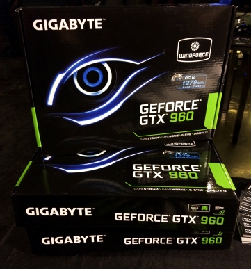 nVIDIA graphics cards, the big prize of the night!
