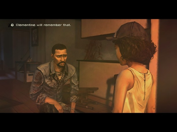Clementine never forgets.